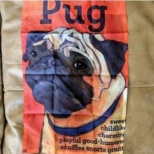 Other - Pug Fabric Flag Wall Decor Poster